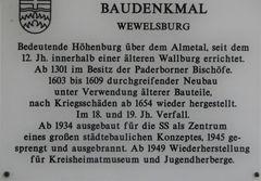 Info über die Wewelsburg