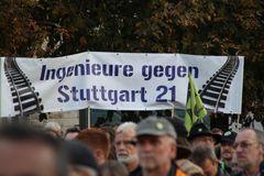 Ingenieure gegen S21 am 27.9 -Stuttgart K21