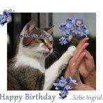 Ingrid hat Geburtstag