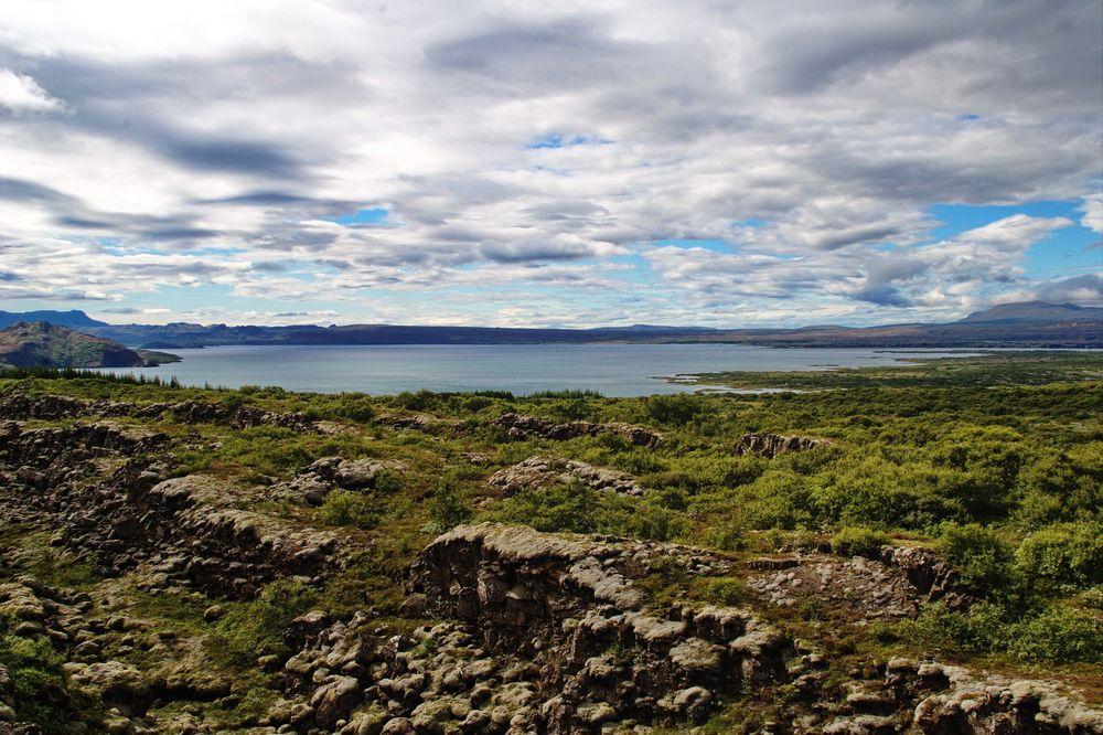 Þingvallavatn von Nordosten
