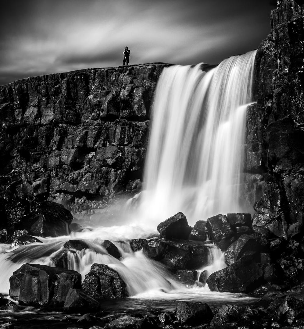 Þingvellir Wasserfall