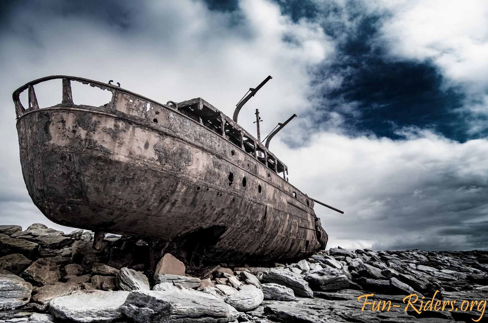 Inisheer Plassey shipwreck Irland