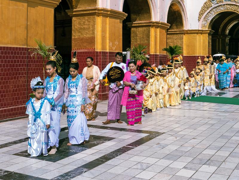 Initiations Zeremonie