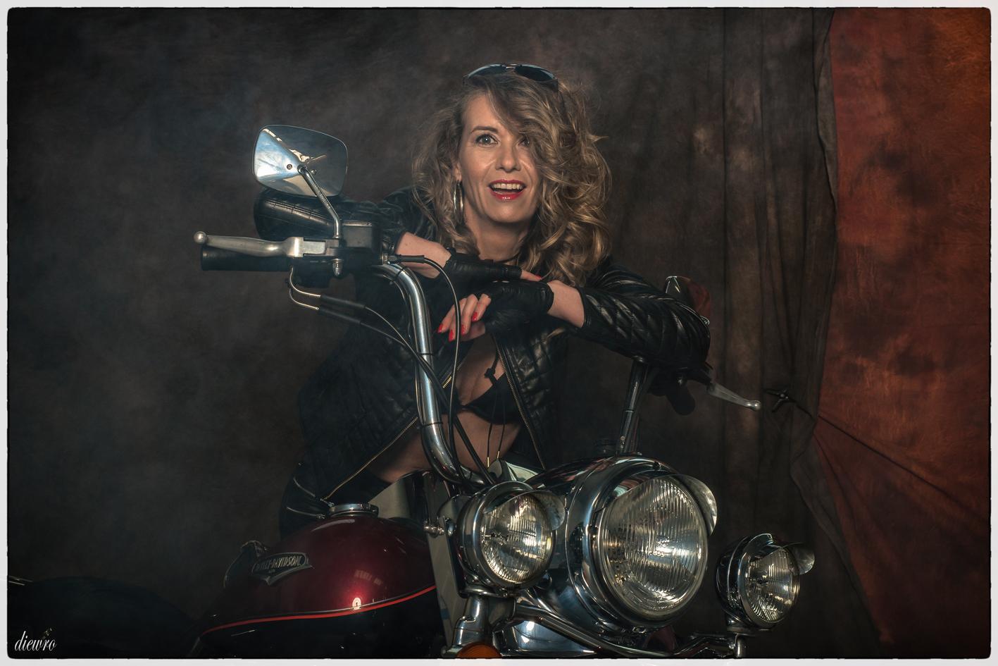 Inka die coole Bikerlady _3495