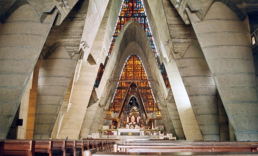 Innenansicht Basilika Nuestra Señora de la Alagracia, Higüey