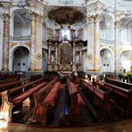 Innenansicht Basilika Vierzehnzeiligen