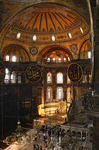 Innenansicht der Hagia Sophia