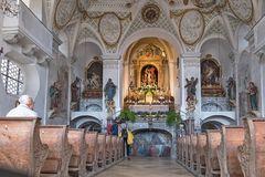 Innenansicht der Heilig-Kreuz-Kirche