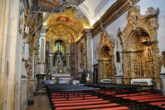 Innenansicht der Igreja do Carmo