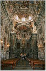 Innenansicht der Kirche Santa Catarina in Palermo