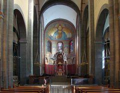 Innenansicht der Klosterkirche Maria Laach