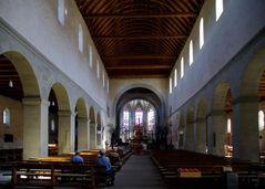 Innenansicht der Reichenauer Münsterkirche