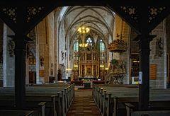 Innenansicht Marktkirche in Quedlinburg