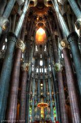 Innenansicht Sagrada Familia