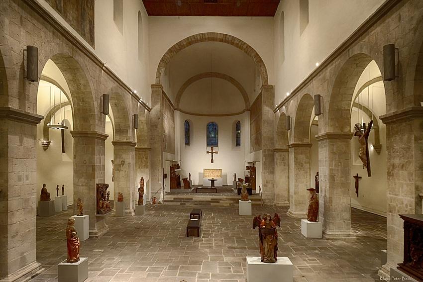 Innenansicht St. Caecilien (Museum Schnütgen)