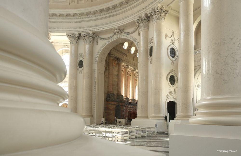 Innenansicht vom Dom in St. Blasien.