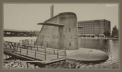 Innenhafen Duisburg, U-Boot