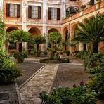 Innenhof - Basilica di Cosma e Damiano -Rom-
