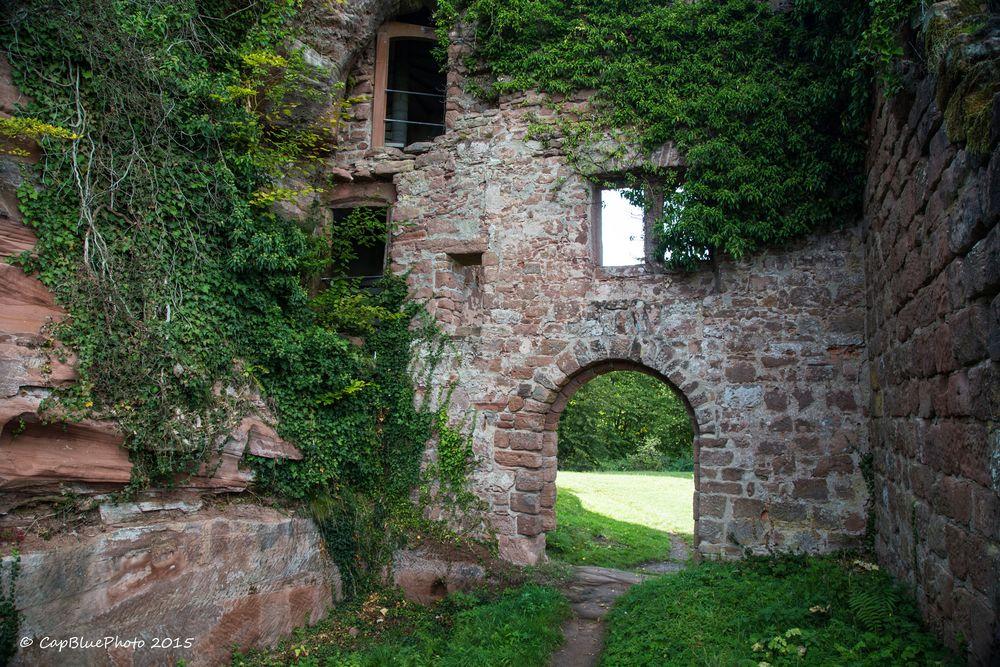 Innenhof Burg Neudahn