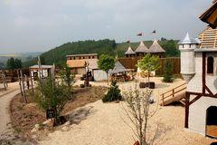 Innenhof der Burg Weltentor
