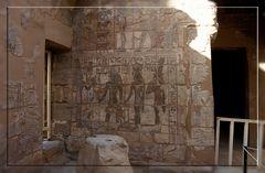 Innenhof der Grabkapellen