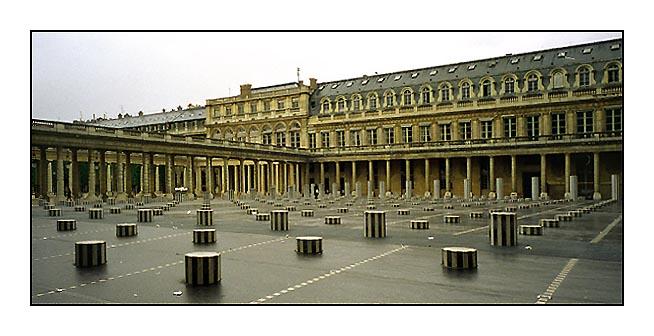 Innenhof des Palais Royal