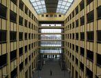 Innenhof eines Verwaltungsgebäudes in Köln
