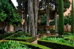 Innenhof in der Alhambra