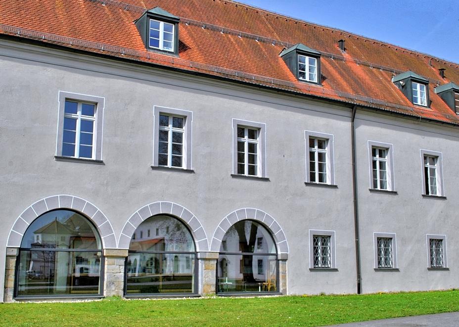 Innenhof Kloster Niederalteich
