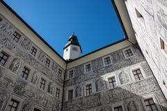 Innenhof Schloss Ambras