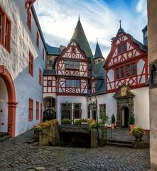 Innenhof Schloss Bürresheim