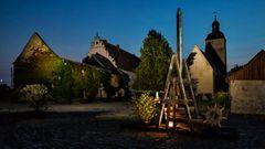 Innenhof Wasserburg Egeln