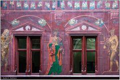 Innennhof-Detail Basler Rathaus