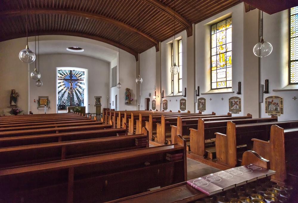 Innenraum der Hundertwasserkirche in Bärnbach! (3)