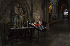 Innenraum der Kathedrale Saint-Pol-Aurélien