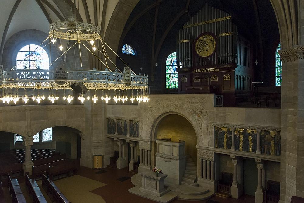 Innenraum der Pauluskirche