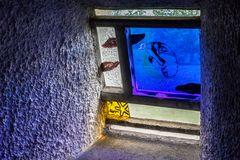 Innenraum der Wallfahrtskirche in Ronchamp 02