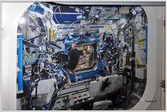Innenraum in der ISS - 3