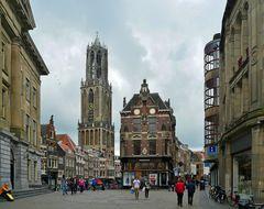 Innenstadt mit dem höchsten Turm Holland's