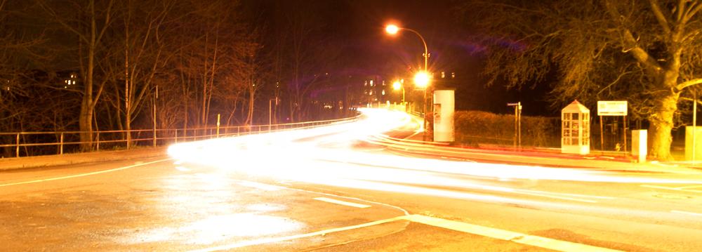 Innerorts Lichtgeschwindigkeit