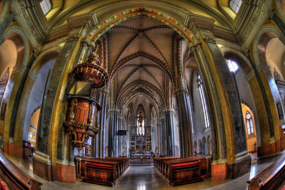 Innerstädtische Pfarrkirche / Budapest
