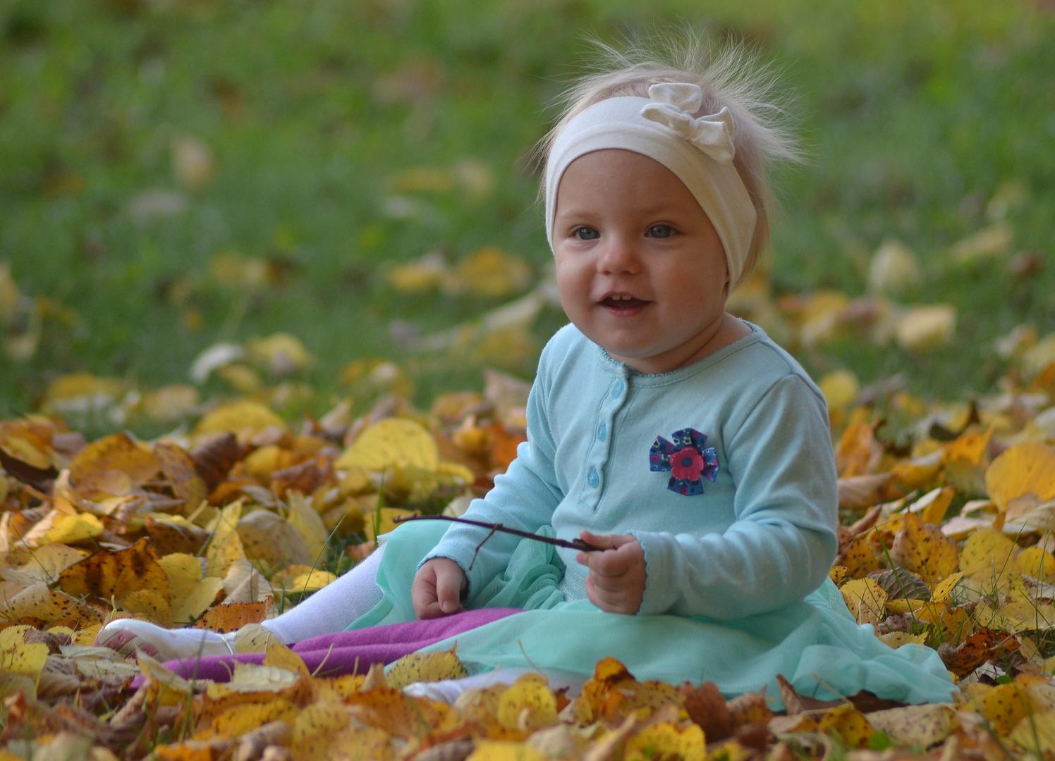 """Innocente,tenerissimo e dolcissimo """"autunno"""""""