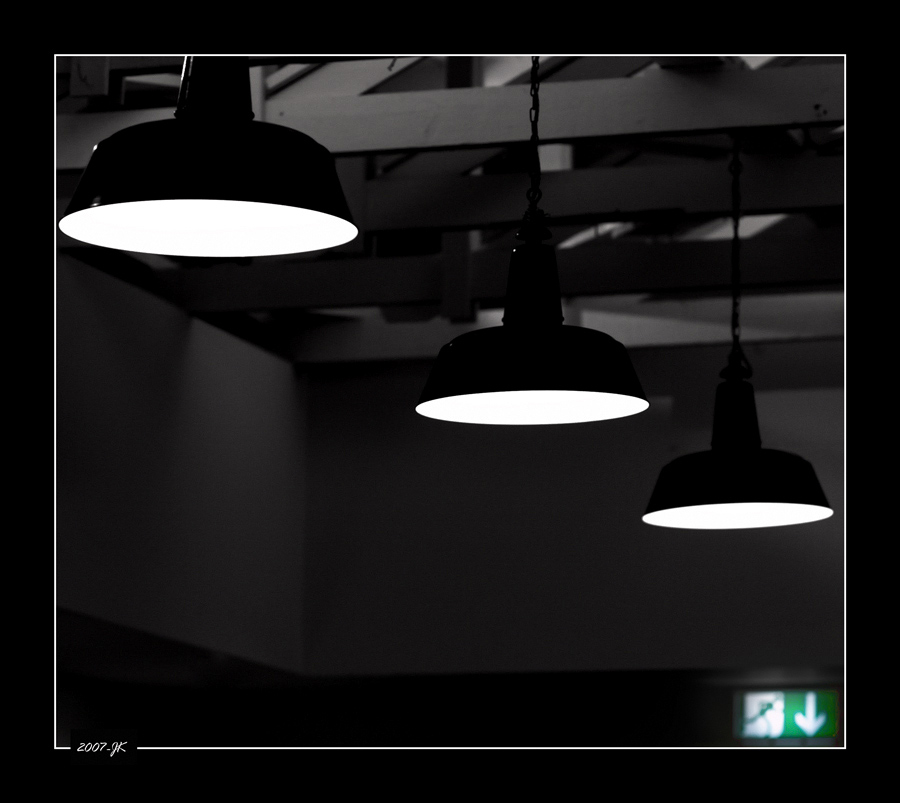 innovative diagonale Notausgangsbeleuchtungsfotografie