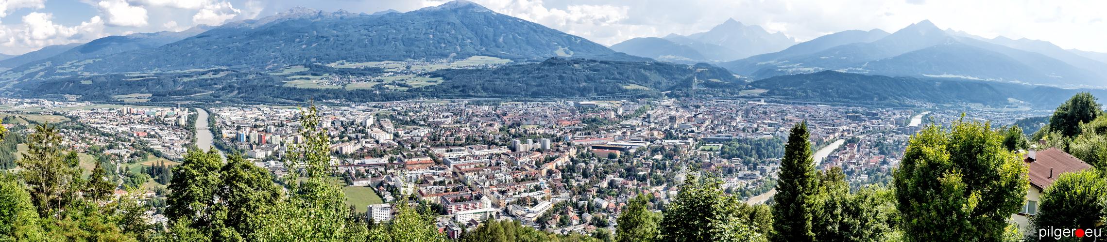 Innsbruck - Der Blick von der Hungerburg