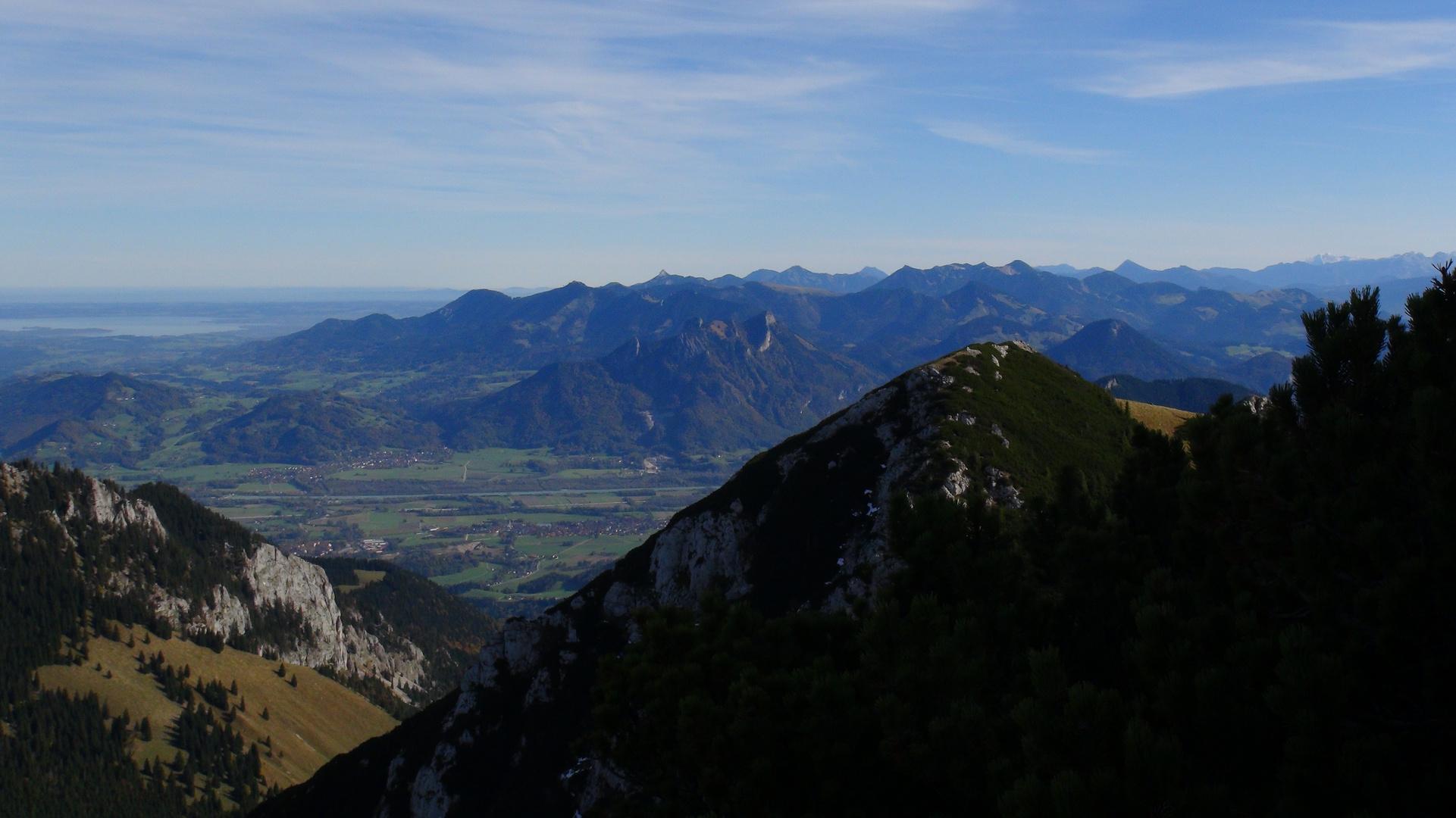 Inntal, Samerberg und Chiemgauer Berge