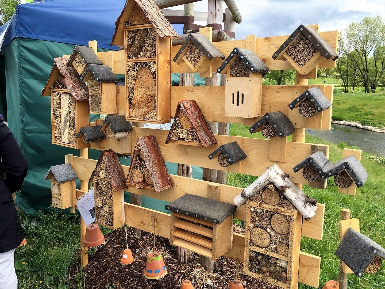 Insektenhotel Auf Der Landesgartenschau Bayreuth Foto Bild Natur