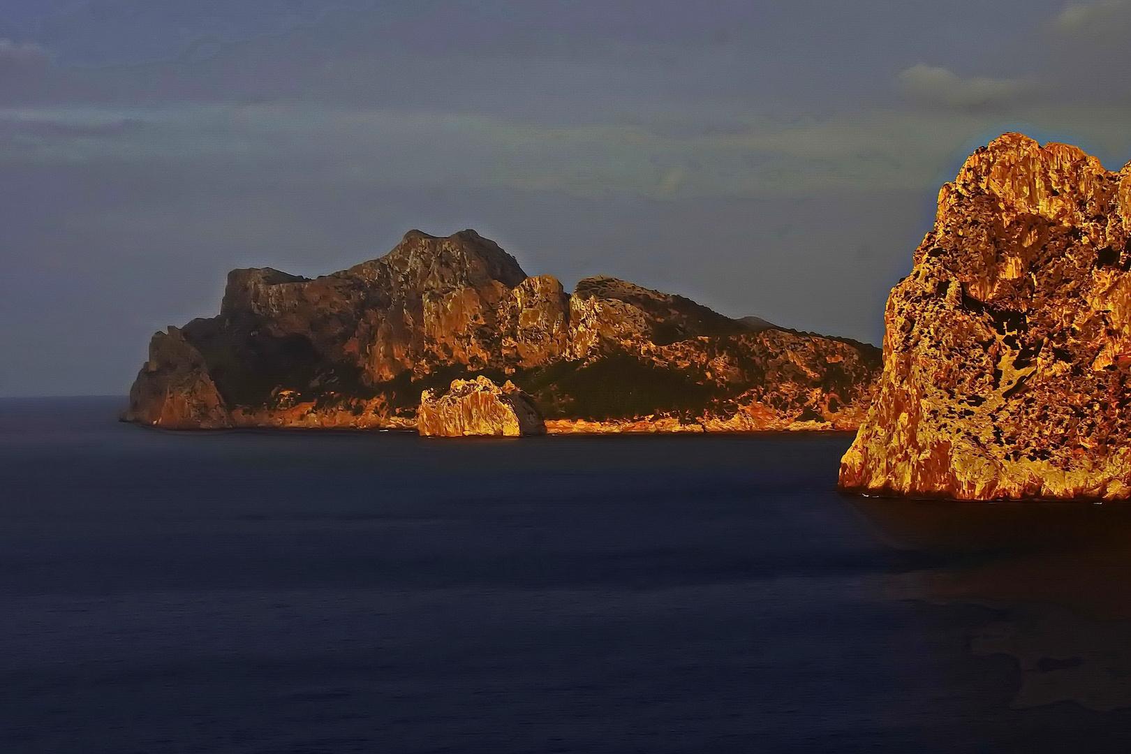 Insel des Lichts - Sonnenuntergang im Nordosten Mallorcas