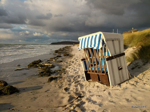 Insel Hiddensee im Sturm1
