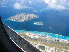 Insel Hulhulé und Malé