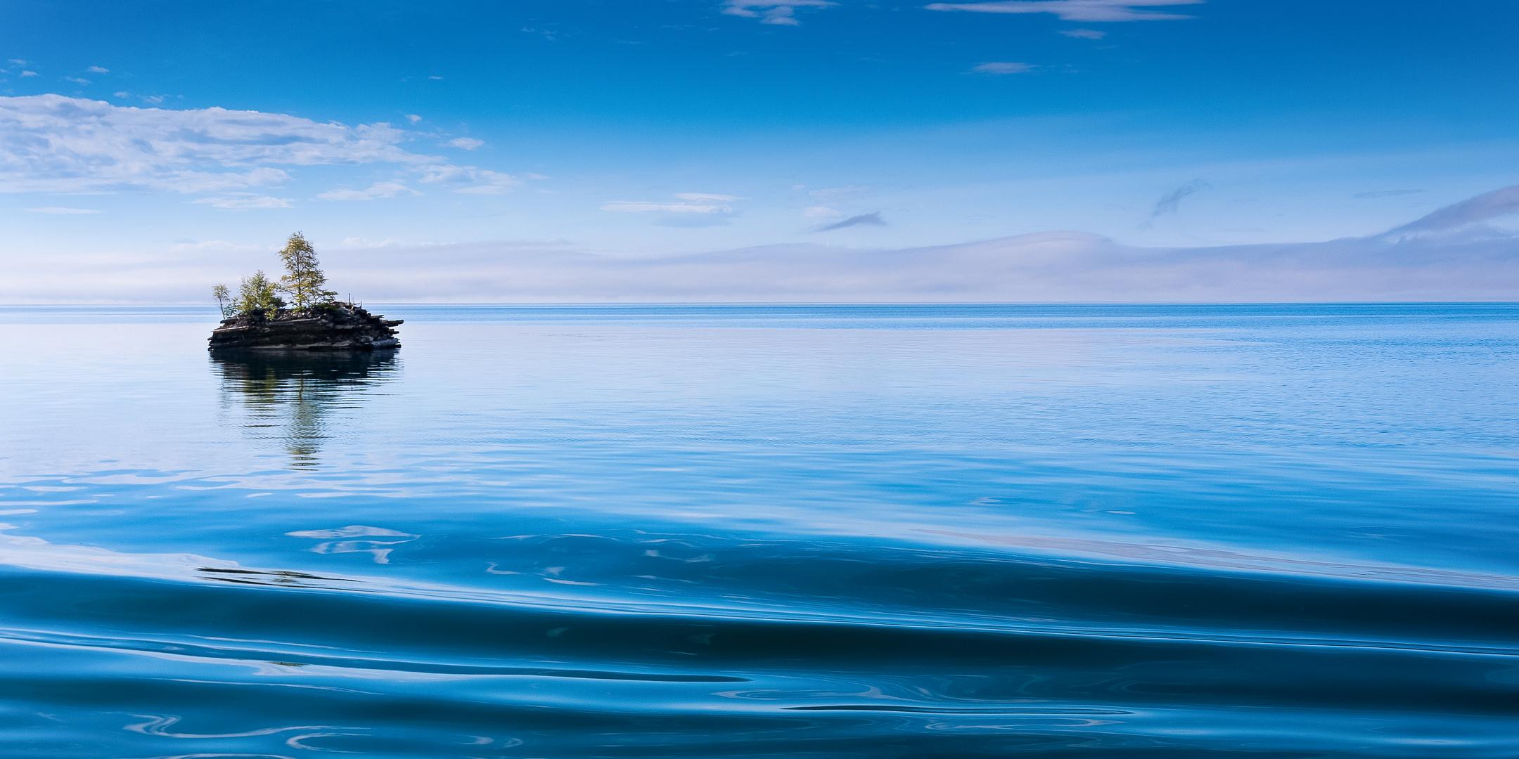 Insel im Baikal
